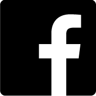 black and white facebook icon
