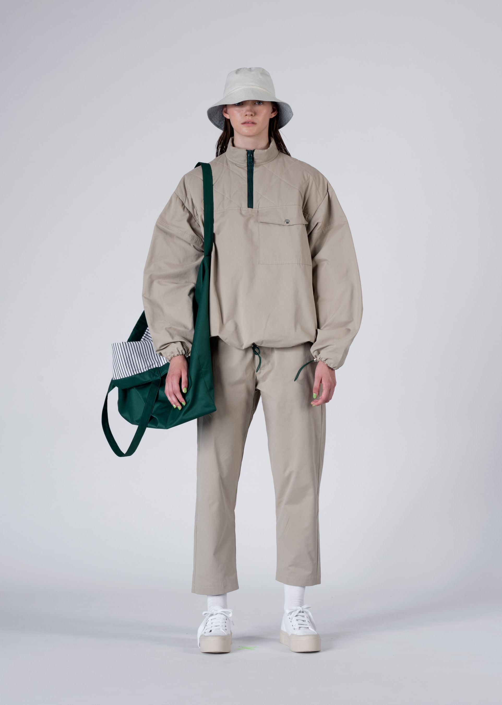 TRACKSUIT SWEATER