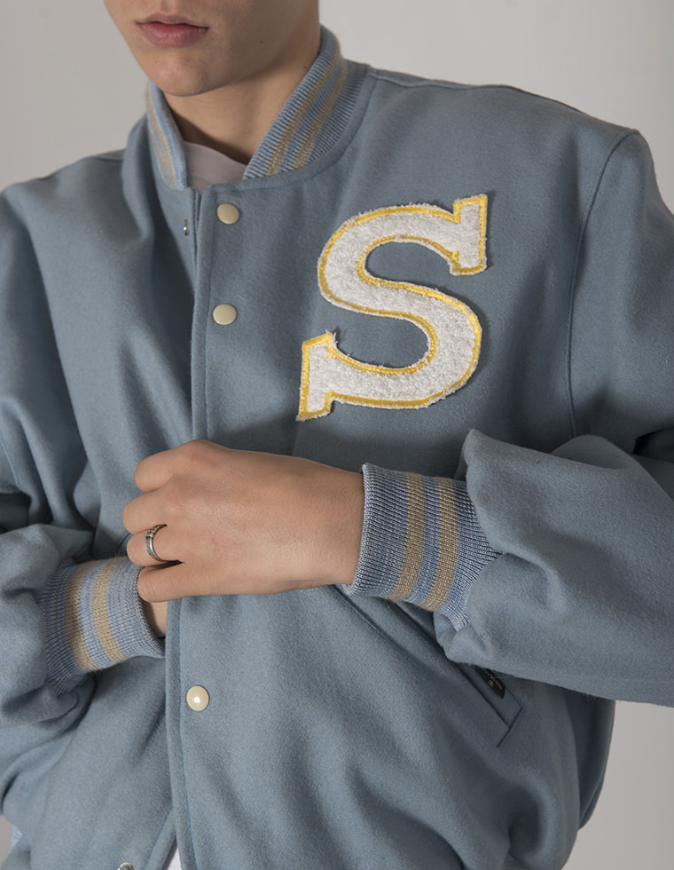Bomber Light Blue