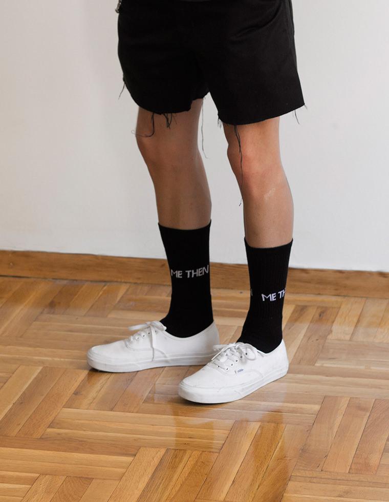 Logo Socks Black