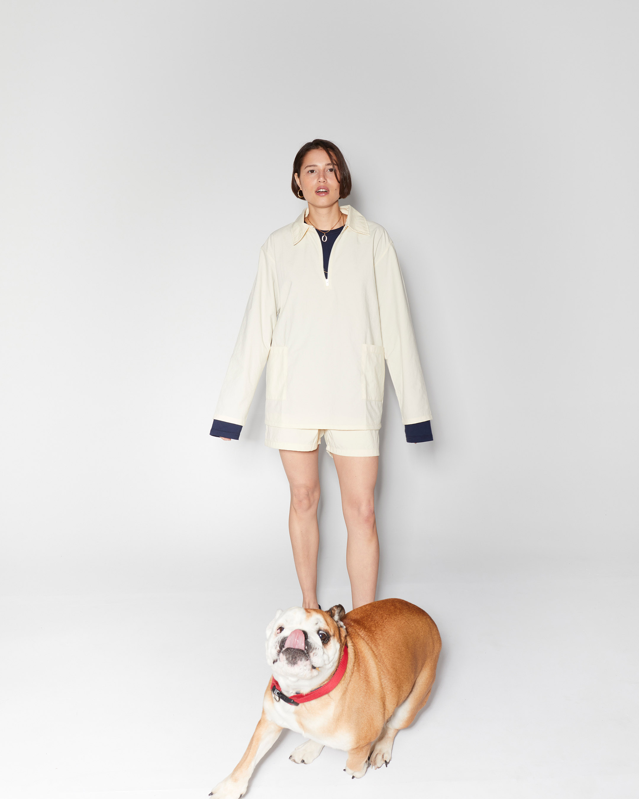 shorts 3  nylon short beige 210415 ecom 835