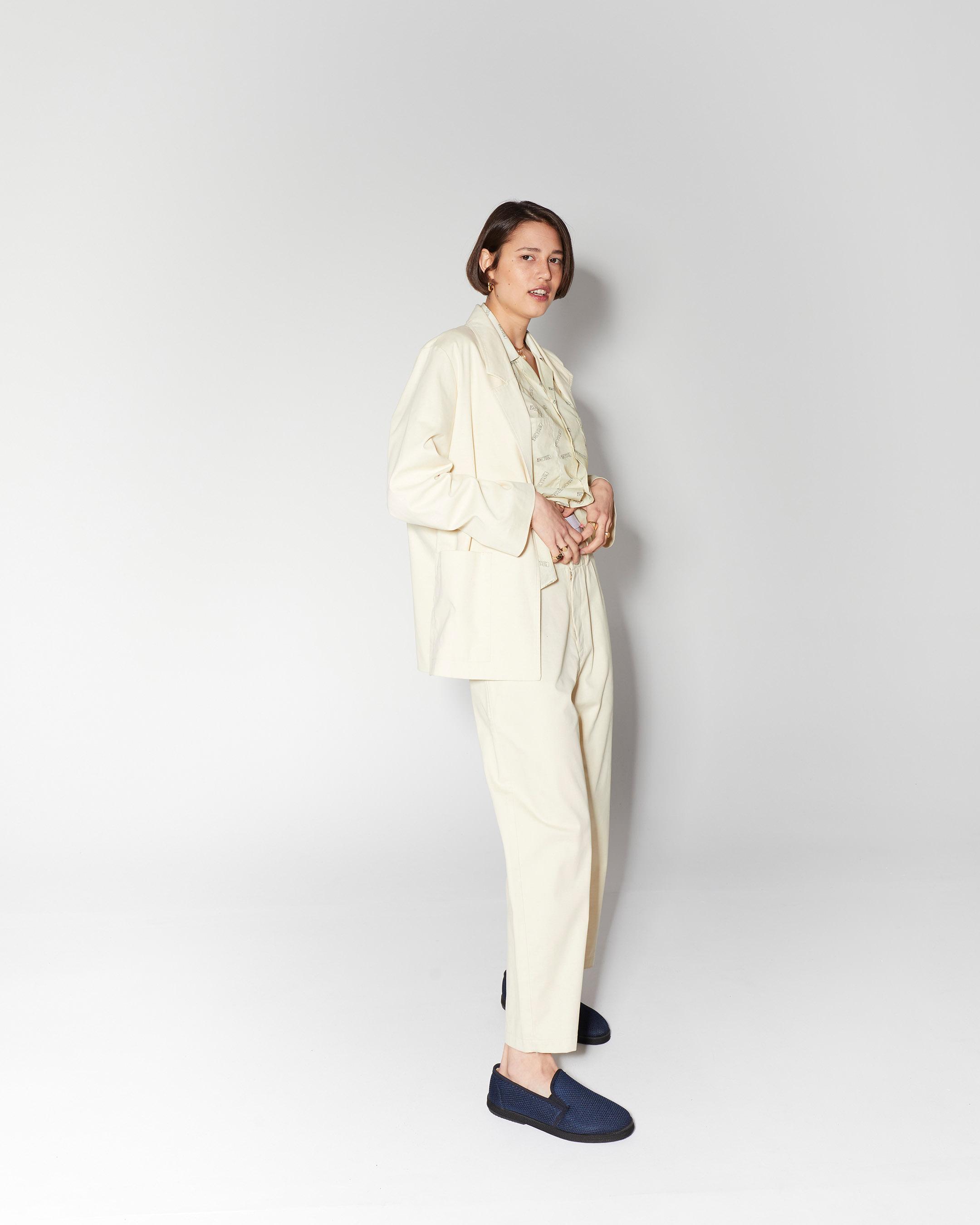 trousers 3  suit pant beige 210415 ecom 576