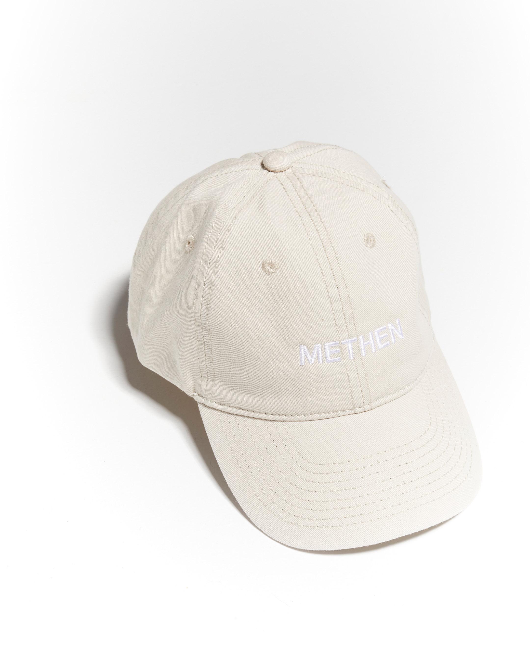 LOGO BEIGE CAP